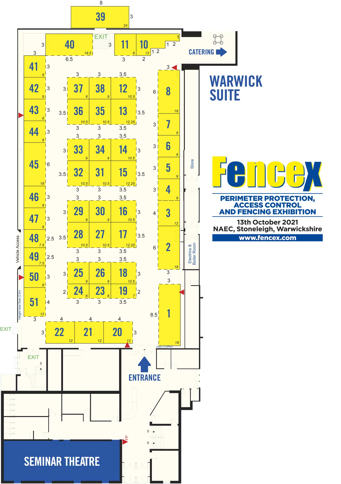 Fencex Floor Plan